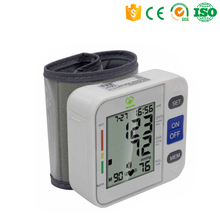 New arrival Accurate Hospital Digital wrist Blood Pressure Monitor/Electronic Blood Pressure Machine