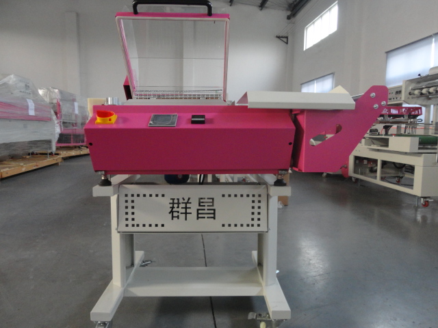 manual food shrink wrapping machine for l book small shrinkable wrapping machine