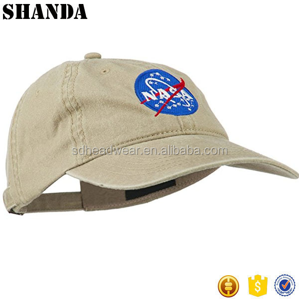 3d embroidery racing 6 panel fitted baseball cap with embossed metal fastening