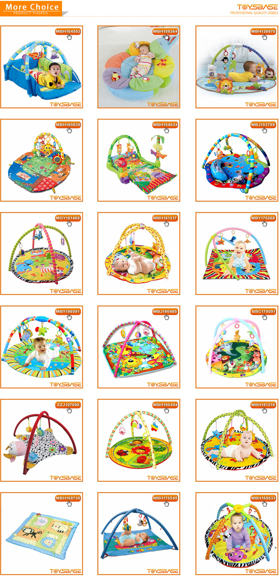 Musical Safety Baby play mat