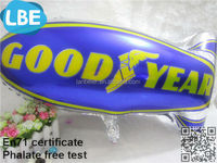 helium hot sale blimp shape balloon advertising globos