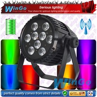 led ZOOM 5in1 Water Proof Par Light battery powered wirless dmx led flat par