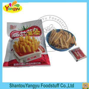 2016 hot selling Chinese tomato flavor chips