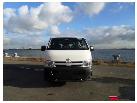 2015 TOYOTA HIACE DX 2.5L STD ROOF COMMUTER 15 SEATER DIESEL