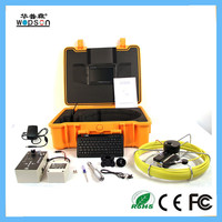 Underground pipe inspection camera with high technology