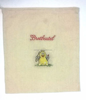 Bread bag with embroidery