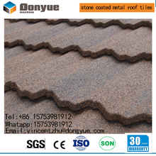 2017 hot sale harvey tile/stone coated metal roof tiles in Zimbabwe