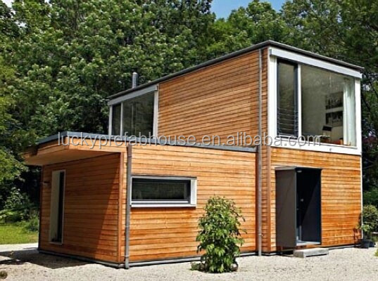 200 meter container villa design, light steel villa, prefabricated villa