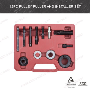 Pulley Puller And Installer Set For Most Vehicles Power Steering Alternators Etc(VT01041)