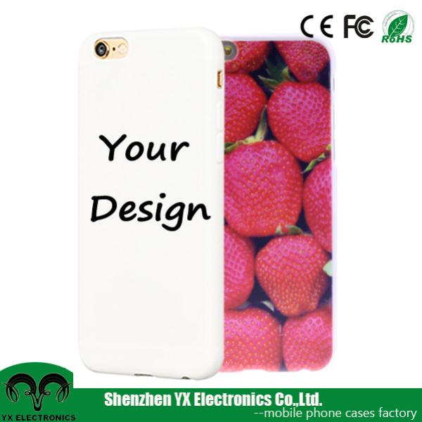 hard plastic design your own cell phone case for iphone 6 plus case custom