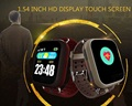 Fashion Anti-lost Mini WaterproofSmart Watch Wifi LBS GPS Tracking For Old People Parents Smart watch