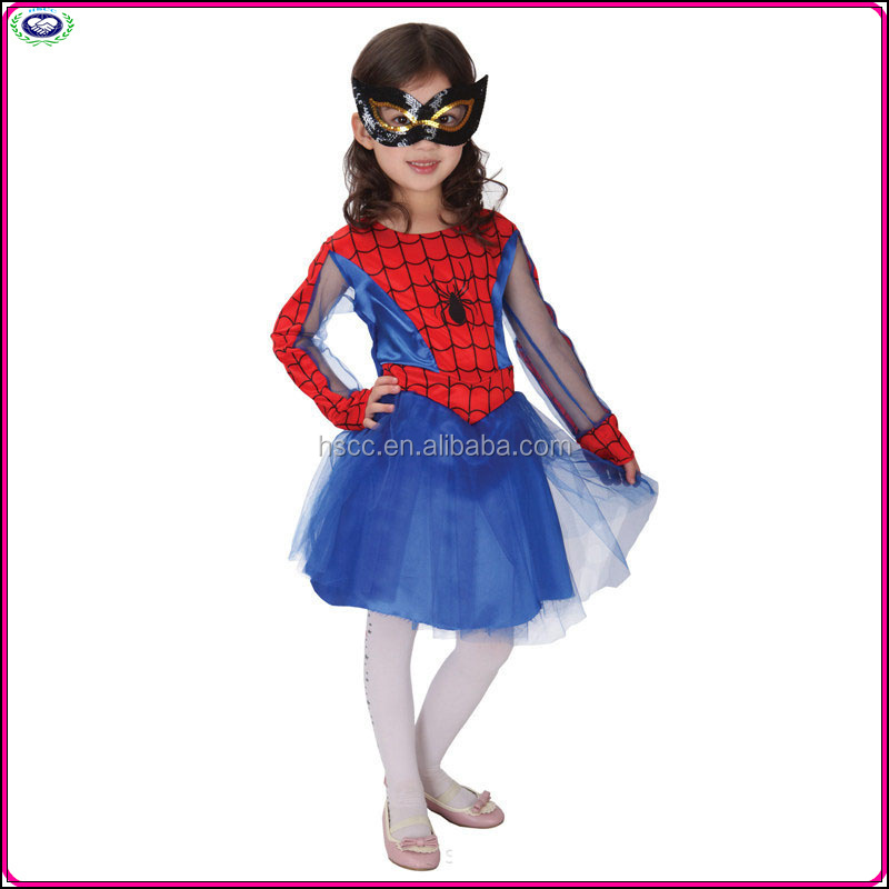 Promotion price Halloween cosplay custome children's Day handsome spiderman costumes
