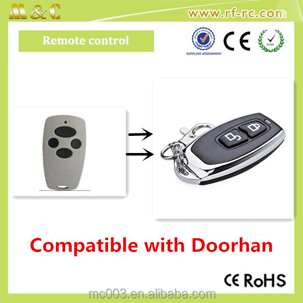 Hot selling Compatible for Doorhan 433M remote control for swing gate opener