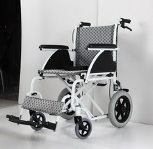 Electric stair climbing wheelchair with lithium battery power connects