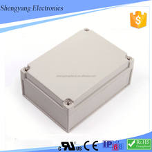 SY Underground Weatherproof White/Gray ABS Plastic Waterproof Position Terminals Electrical Junction Box