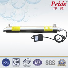 Portable uv water sterilizer disinfection for wastewater