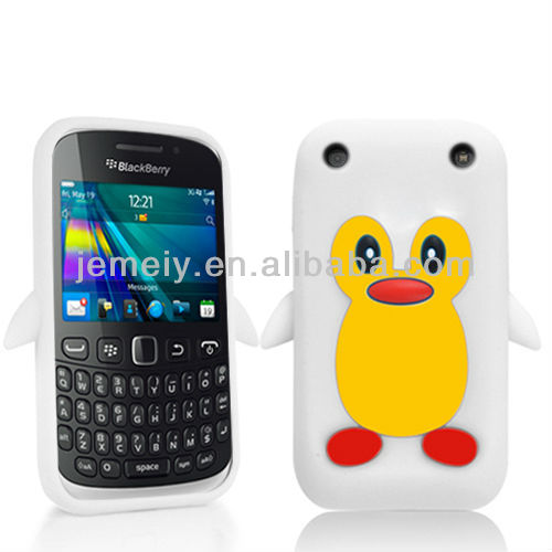 For Blackberry 9320 penguin silicon case various colour