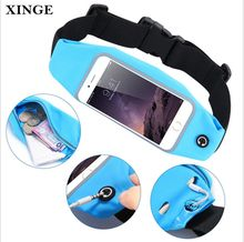 Promotional Custom Fashion Pack Waterproof Sport Jogging Running Waist Belt Bag Pouch