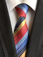Polyester Stripe neckties , school uniform ties