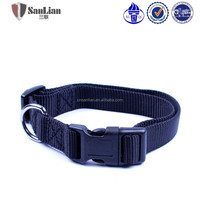 Wholesale Nylon Dog Collar Products for Pets High Quality pure color Lead Dog Collar