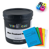 Screen printing ink especially for PP plastic solvent base