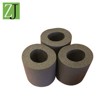 3 inch or customized size rubber pipe thermal insulation material for oven