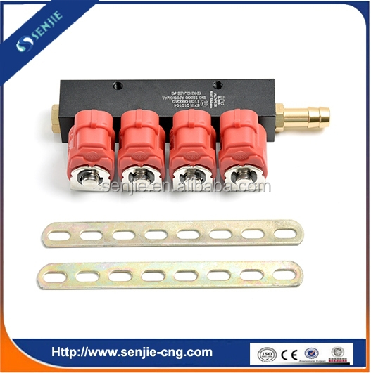 4 cyl lpg/cng Injector Rail