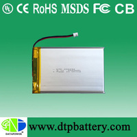 DTP656294 4000mah thin cell soft pack battery