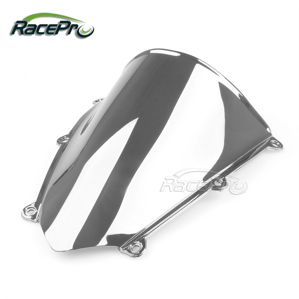 Double Bubble Custom Motorcycle Racing Dirt Bike Windshield for Honda CBR 600 RR 2007-2012