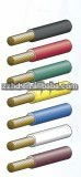 green yellow blue pvc coated copper ground wire