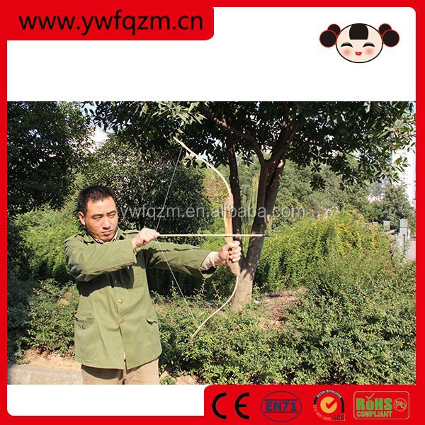 China factory direct bow and arrows wooden archery compound bow