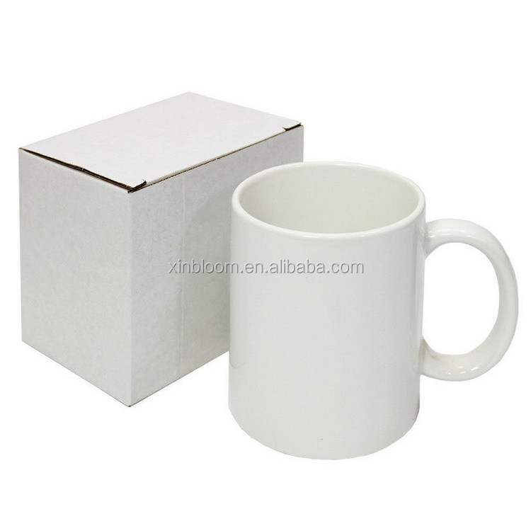 creative hotselling 12oz white sublimation  stainless steel camping enamel mug with flat rim