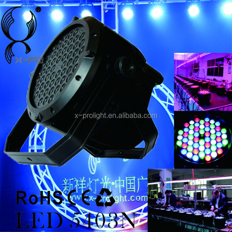 High brightness 54*3W waterproof led par stage light(for Xpro-5403NR)