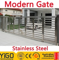 House Steel Slide Main Gate Designs