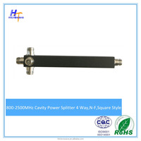 800-2500MHz 4 Way Microwave Power Divider/Splitter N Female connector