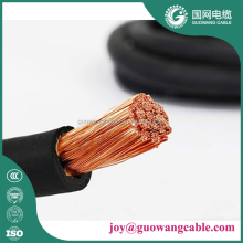 Industrial Low Voltage Double Insulation Pvc Sheath Electric Flexible Copper Conductor Welding Cable 185mm2
