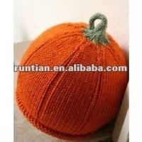 Infant and Toddler Handmade Knitting Pumpkin hat