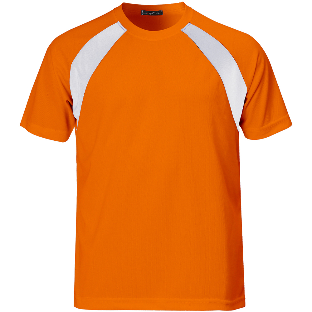 Wholesale Fluorescent Green T Shirt Sports Series