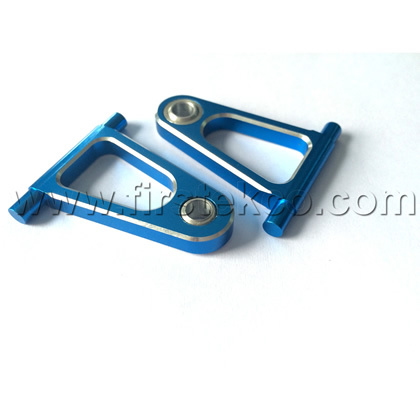 RC Car Upgrade Parts for Tamiya TT01 TT01E TT-01 hop up Alloy FRONT UPPER Arm Set