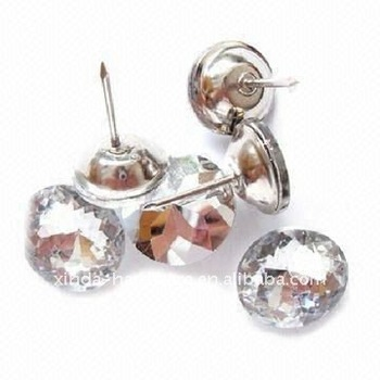 Metal crystal rhinestone furniture button buy - Bouton de meuble design ...