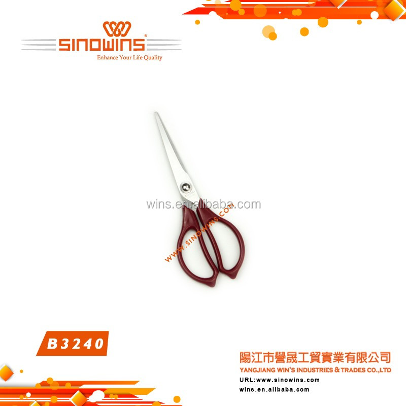 B4172 Super Quality New Design Eiffel Tower Shape Stainless Steel Beauty Scissors with Titanium Plated