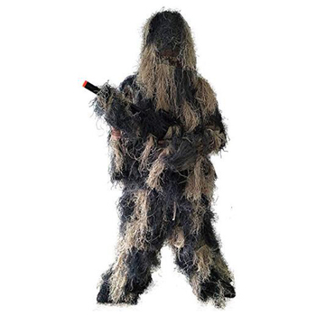 2019 Military Camouflage  Clothing Ghillie Suit