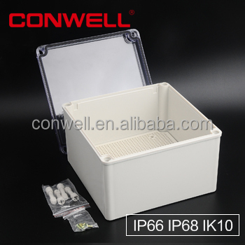 IP68 electronicplstic enclosure cable connection box underground cast resin joints