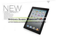 Transparent Clear LCD Screen Protectors Covers Protective Film Guard for iPad 2 3 4 with Retail Package