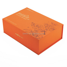 Custom design gift box for olive oil bottle paper box for food package
