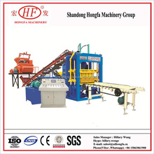 QT4-15 vibration automatic kerb brick making machine hollow/solid/paving block making industrail equipment in China price
