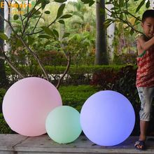 Hot selling outdoor led light ball changing color,led floating ball,floating waterproof led light ball