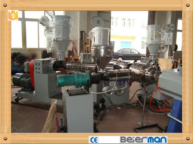 ZHANGJIAGANG MADE 20-63mm three layer PE/PPR pipe production line for sale