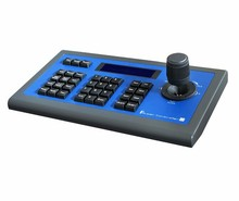 CCTV Camera accessories RS485, RS422 Rs232 Ptz Joystick Visca 3D Remote Control Keyboard