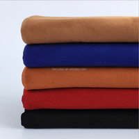 double sided suede fabric sherpa air layer for fashion garment shoes bags sofa upholster suede fabric